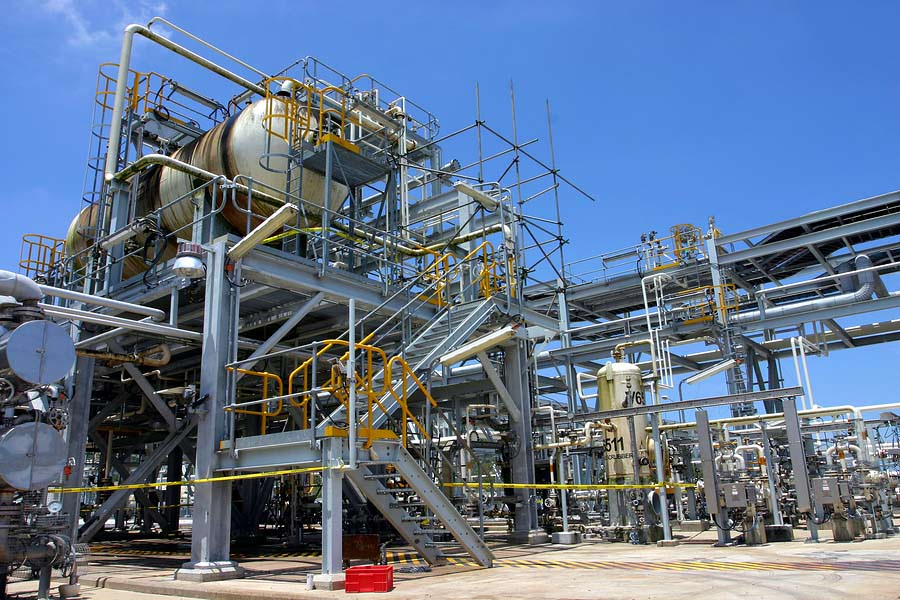 Chemical Plant Oil Refinery Petrochemical Facility
